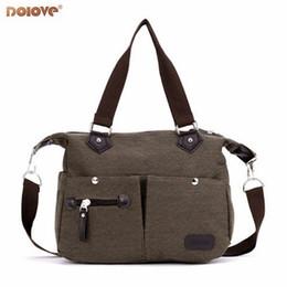 Vente en gros 2018 Nouveaux sacs à main coréens Mode Casual sac à bandoulière en toile Lady Portable Diagonale Messenger Sac # 189990