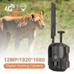 4G Avcılık Kamera 0.6 s Tetik 1080 P HD SMS MMS GPRS GSM IP66 Su Geçirmez Avcılık Trail Kamera
