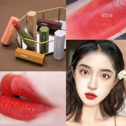 yellow lipsticks Australia - 6 Color Velvety Makeup Lipstick Long-Lasting Matte Lip Gloss Fashion Lip Stick Velvet Nourishing