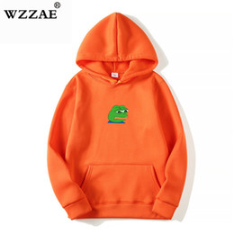 $enCountryForm.capitalKeyWord Australia - 2018 Men women Sad Frog Print Sportswear Hoodies Male Hip Hop Fleece Long Sleeve Hoodie Slim Fit Sweatshirt Hoodies For Men MX190803