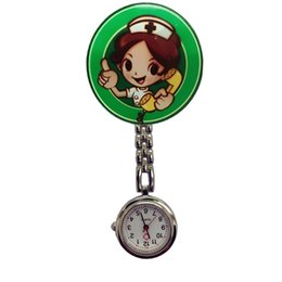 Discount clip pocket watches nurse - Perfect Gift Nurse Clip-on Fob Brooch Pendant Hanging watch Star Pocket Watch Fashion Cute Nurse Doctor Wallet