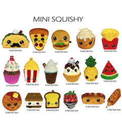 $enCountryForm.capitalKeyWord Australia - New Mini Squishy Mix Pack 10 12pc PU Food Series Slow Rising Decompression Burger Fries Cakes Ice Cream Popcorn Gifts For Kids Children Toy