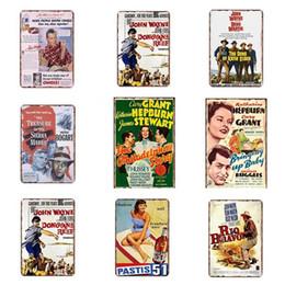 Discount famous art posters - Home Decor Metal Tin Sign Famous People Themes Vintage Poster Plaque Bar Pub Club Cafe Home Plate Wall Decor Art Home De