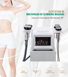 Beauty lifting machine online shopping - 5in1 K Ultrasound Cavitation Slimming RF Radio Frequency Skin Lifting Vacuum Body Contouring Beauty Machine for Spa