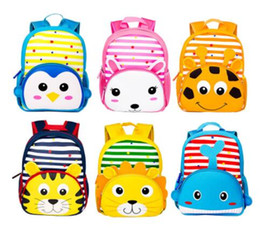 kids backpacks woven Australia - Christmas Cute Kid Toddler School Bags For Girls Boys Baby Backpack Kindergarten Schoolbag 3D Cartoon Animal Bag