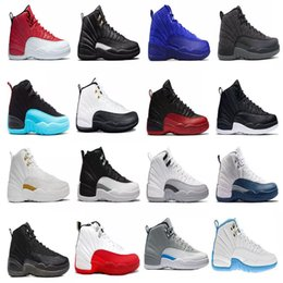 $enCountryForm.capitalKeyWord Australia - Man 2019 Basketball Shoes Winterized Gym Red Michigan Bordeaux 12s 12 White Black Playoffs Flu Game Taxi Sports Sneaker Trainers Size7-13