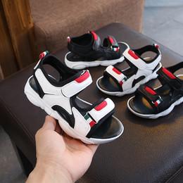 $enCountryForm.capitalKeyWord Australia - Kids Designer Shoes Baby Boys Girls Sandals Infant Chaussures Pour Enfants Summer Comfortable Beach Anti Skidding Soft Sole