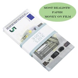 Wholesale Nightclub Bar atmosphere Prop money faux billet 10 20 50 100 Euro fake movie money billet euro 20 play money on Sale