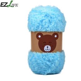 $enCountryForm.capitalKeyWord NZ - yarn Velvet Yarn Coral Velvet Towel Plush Scarf Jacket Line Baby Line Super Soft Smooth Chunky Double Knitting Wool