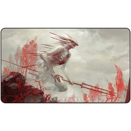 silent mouse NZ - trading card game Playmat gadreel angel of war playmat card game Mouse Pad 60cm x 35cm