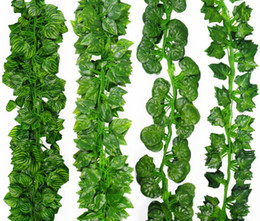 $enCountryForm.capitalKeyWord NZ - Artificial Ivy Garland Greenery Fake Green Hanging Plant Leaves Vine For Wall Party Wedding Home Garden Decoration Supply