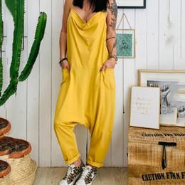 $enCountryForm.capitalKeyWord Australia - Women's Oversize Casual Jumpsuit Solid Harem Pants kombinezon Loose Sleeveless Trousers Rompers Mono Mujer Largo Elegante #15