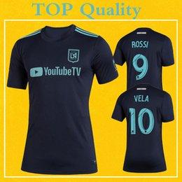 229b01811 LAFC Parley Jerseys MLS 2019 Soccer Shirt Dark Blue Los Angeles FC ROSSI  VELA ZELAYA Top Quality More 10pcs Free DHL Shipping