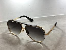 venda por atacado Ouro / piloto preto óculos de sol cinza azul sombreado lente sol óculos gafas de sol mens óculos de sol máscaras com caixa