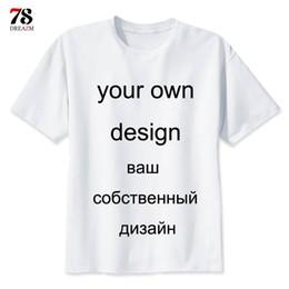 1208f3215 DIY logo customized Custom t shirt printing Picture 2019 Short Sleeve Your  own Design T-shirt Men women Tshirt top Male female