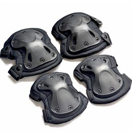$enCountryForm.capitalKeyWord NZ - Hot sale Motorcycle Bicycle Cycling CS Tactical Hunting Armor Protective Elbow Knee Pads Protector Body Armor Guard