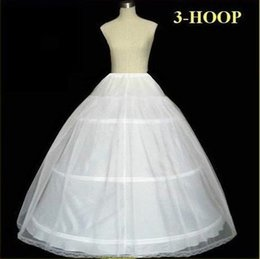$enCountryForm.capitalKeyWord Australia - Plus size In Stock Hot Sale 3 Hoop Ball Gown Bone Full Crinoline Petticoats For Wedding Dress Wedding Skirt Accessories