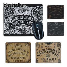 $enCountryForm.capitalKeyWord NZ - MaiYaCa Ouija Board Comfort small Mouse Mat Gaming Mouse pad Keyboards Mat anime Mousepad Decorate Your Desk Non-Skid Rubber Pad