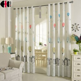 72 balloon Canada - White balloon curtains kids blackout curtains Cloth Sheer Tulle Home Decor for Living Room Bedroom WP403B