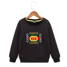 $enCountryForm.capitalKeyWord Canada - Cool Sweatshirts Children Plus Velvet Autumn And Winter 2018 New Pattern Girl Letter Sweater Even Cap Boys Jacket Thickening