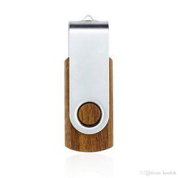 HACKIST® Metal İmitasyon Ahşap USB Flash Sürücü 32 GB 64 GB 128 GB 16 GB 8 GB 4 GB 2 GB 1 GB USB Kalem Sürücü USB Memory Stick EU038