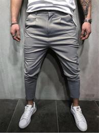 Wholesale men sports clothes pants resale online – Mens Designer Clothing Jogger Pantalones Pants FW Autumn Spring Sports Pants Pencil Sweatpants Hommes Trousers