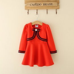 Korean Dressing Styles Australia - Wool Knitted lace Girl Dress Spring 2019 Korean New Pattern Princess Western Style Will Gules Children Skirt Children's