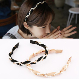 headbands for girls wholesale NZ - Hot 1PC Crystal White Female Hair band Hoop Girls Women Headband For Women Wedding Hair Accessories Ornaments