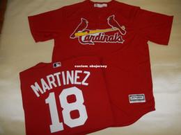 $enCountryForm.capitalKeyWord Canada - Cheap custom CARLOS MARTINEZ SEWN Baseball Jersey Stitched Customize any name number MEN WOMEN BASEBALL JERSEY XS-5XL
