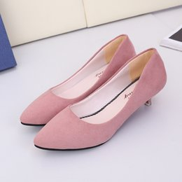 958f423f93a Designer Dress Shoes 2019 Women New Fashion Style Women Pumps Ladies Sexy  High Heels Wedding Work Women PU Leather Low Heel Party