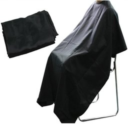 $enCountryForm.capitalKeyWord Australia - Styling Tools Wrap Hot Black Professional kappers cape Hairdresser Hair Cutting Gown kappers Apron Waterproof Barber Cloth LT01140