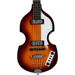 Hofner Ignition Violin Bass Guitar McCartney H500 1-CT Contemporary Deluxe 4 Strings Sunburst Flame Maple Top Back 2 511B pickup on Sale