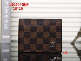 Coin Dryer NZ - 2018 wallets purse Men Wallet New Brand Leather Wallet,Fashion Men Purse Arteira Masculina Short Coin Pocket Men Purse with box