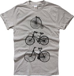Bicycle Print Tops NZ - DAY FOR A RIDE VINTAGE BICYCLES T SHIRT FUNNY VINTAGE BIKES CYCLING TEE TOP Brand shirts jeans Print