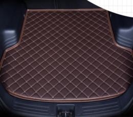 Cts Car Australia - 2010-2011Years Cadillac CTS Sedan, 4 doors Car Anti-skid Trunk Mat Waterproof Leather Carpet Car Trunk Mat Flat Pad