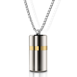 Necklaces Pendants Australia - Wireless Mini Bluetooth Earphone Stereo Earbuds Mic Pendant Headset Necklace Headphone Metal With Storage Box For Iphone