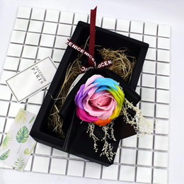 artificial valentines gifts Canada - Valentine Day Party Artificial Soap Flower Gift Exquisite Mother Day Crative Simulatiom Rose Present Hot Sale AN3212