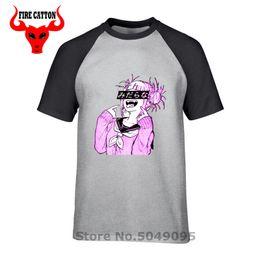 T Shirts Material Wholesale Australia - Waifu Material Shirt Otaku Lewd Hentai Tee Japanese Cute Girl Anime T Shirt for Men StreetWear Waifu T-Shirt tshirt