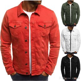 Mens cowboy shirts online shopping - Mens Brand Designer Jackets Vintage Solid Color Denim Cowboy Shirts Male Female Winter Thin Jacket Casual Coat