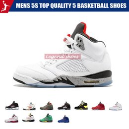 fresh fishing Canada - 2019 5 Fresh Prince wings Space Jam 5s PSG Black men Basketball Shoes PARIS Laney OG White Grape Athletics mens sports Sneakers