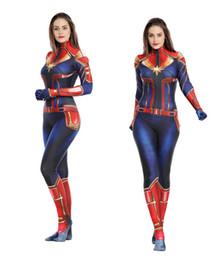 $enCountryForm.capitalKeyWord NZ - Surprise captain cosplay tight-fitting dress with Marvel hero children's clothing Marvel role playing