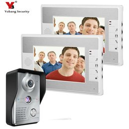 "Yobang Security Wired 7""Inch LCD Monitor Video Doorbell Intercom Door phone Access Control Home Gate Entry For Home Apartment"