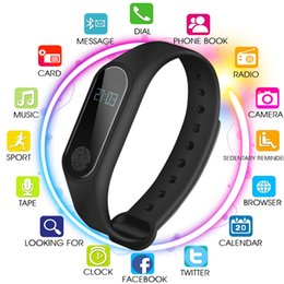 $enCountryForm.capitalKeyWord Australia - Smart Bracelet M2 Bluetooth Wristband Heart Rate Monitor Fitness Tracker Pedometer Smart Band for Android iOS Phone Smartband