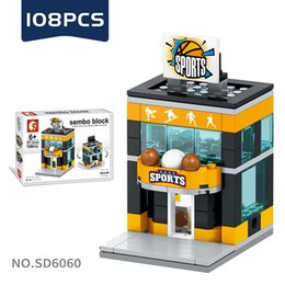 Age Blocks Australia - Mini World Little Shop Series City Building Street View Blocks Assembled Micro-blocks Children's Toys for Age 6 Up