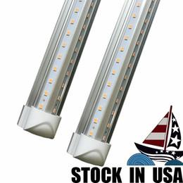 Ul approved led lights online shopping - UL Approved W FT Integrated T8 Led Tubes Light Cooler Door V Shaped Angle Led Fluorescent Tubes Light AC V