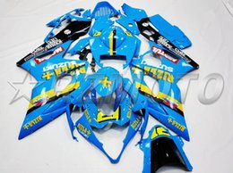 $enCountryForm.capitalKeyWord Australia - New ABS Injection Mold fairings kit Fit for Suzuki GSXR1000 K5 2005 2006 05 06 GSX-R1000 blue RIZLA+