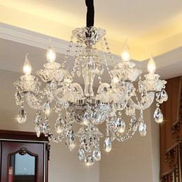 $enCountryForm.capitalKeyWord Australia - Modern Luxury LED Crystal Chandelier Ceiling Lustre de cristal Crystal ball Pendant Hanging Lamp Home Kitchen Lighting Fixtures