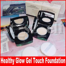 Glow Gel online shopping - Famous Face Makeup Foundation healthy glow gel touch foundation Les Beiges Touche Powder Foundation colors