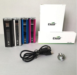 $enCountryForm.capitalKeyWord Australia - Eleaf iStick 30w Battery Vape mod Kit 2200mAh Variable Voltage Wattage Box mods with USB Cable 510 Thread eGo Connector VS mini 10w