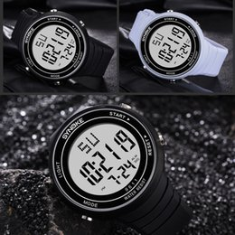 Sports Clocks Australia - SYNOKE Hot Men Watches Digital LED Sport Watches Male Clock Luxury Life WaterProof Men Watch relogio digital hombre